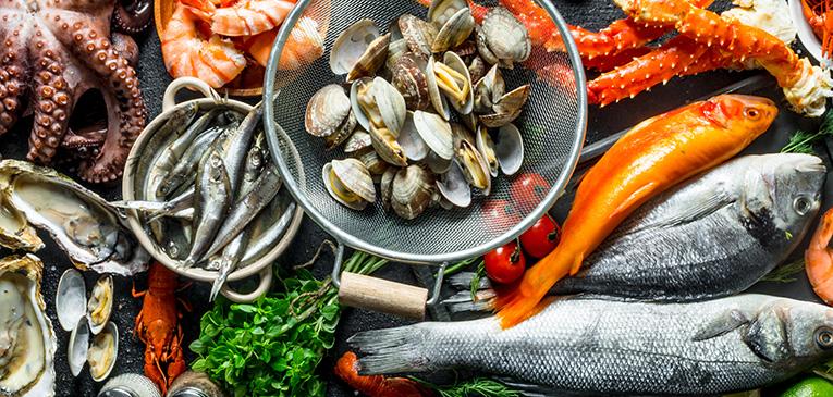 Os benefícios dos frutos do mar para corredores