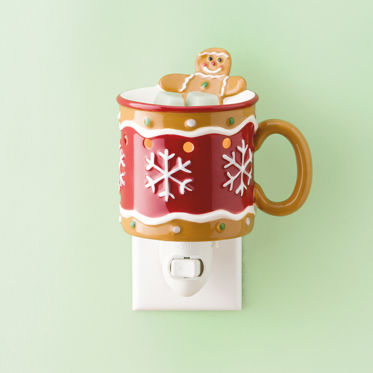 Scentsy Mini Warmer Gingerbread Man Shop Scentsy