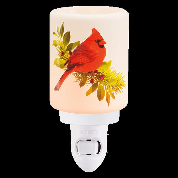 Scentsy Mini Warmer Christmas Cardinal Shop Scentsy