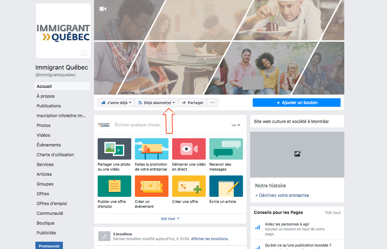 site Immigrant Québec