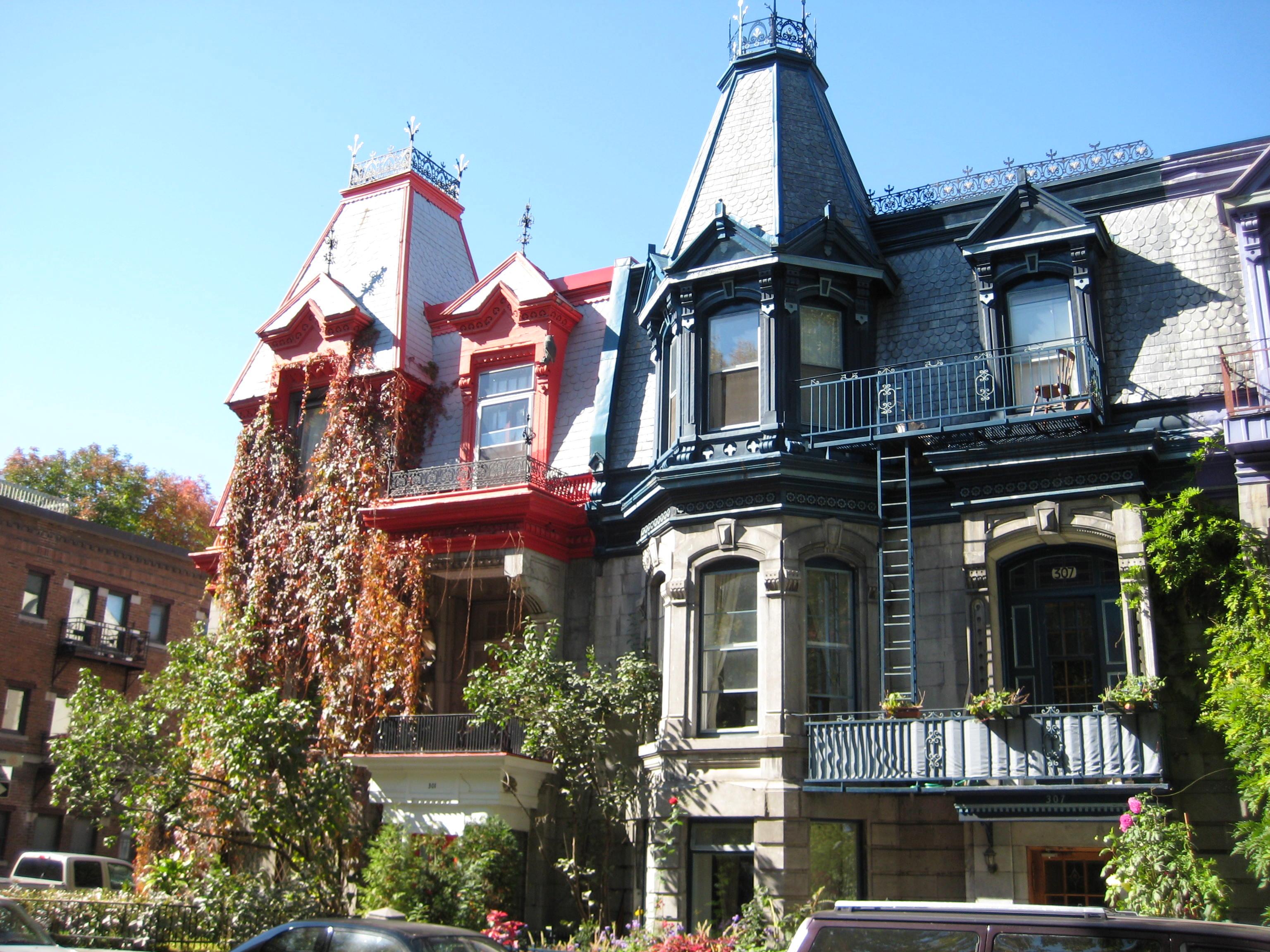 Maisons Plateau Mont-Royal
