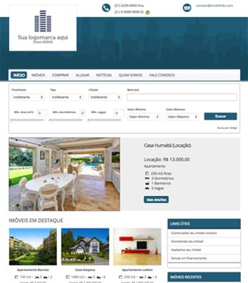 Site para imobiliárias Modelo 5