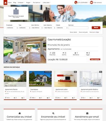 Site para imobiliárias Modelo 7