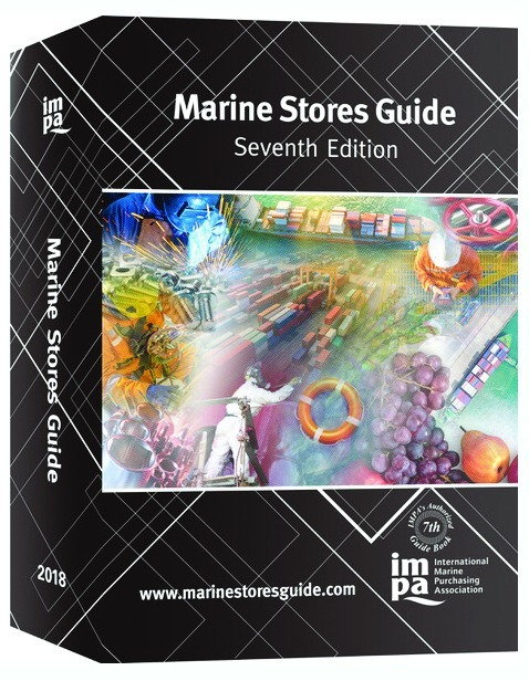 Marine Stores Guide (7th edition) on display at IMPA Singapore 2018