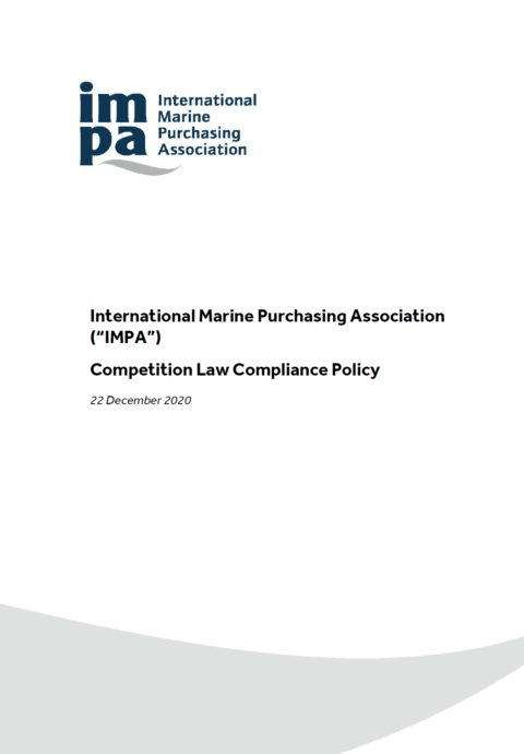 IMPA Competition Law Compliance Policy
