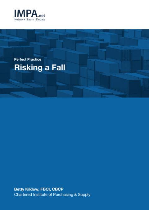 Risking a fall