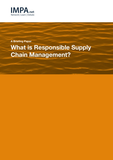 What is Responsible Supply Chain Management?