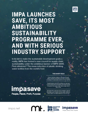 The story of IMPA SAVE, IMPA's most ambitious sustainability programme ever