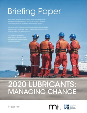 2020 Lubricants: Managing Change