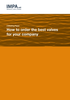 How to order the best valves for your company