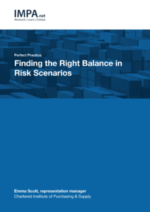 Finding the Right Balance in Risk Scenarios