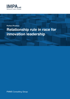 Relationship rule in race for innovation leadership