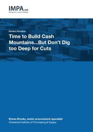 Time to Build Cash Mountains…But Don't Dig too Deep for Cuts
