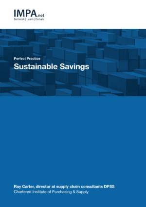 Sustainable Savings