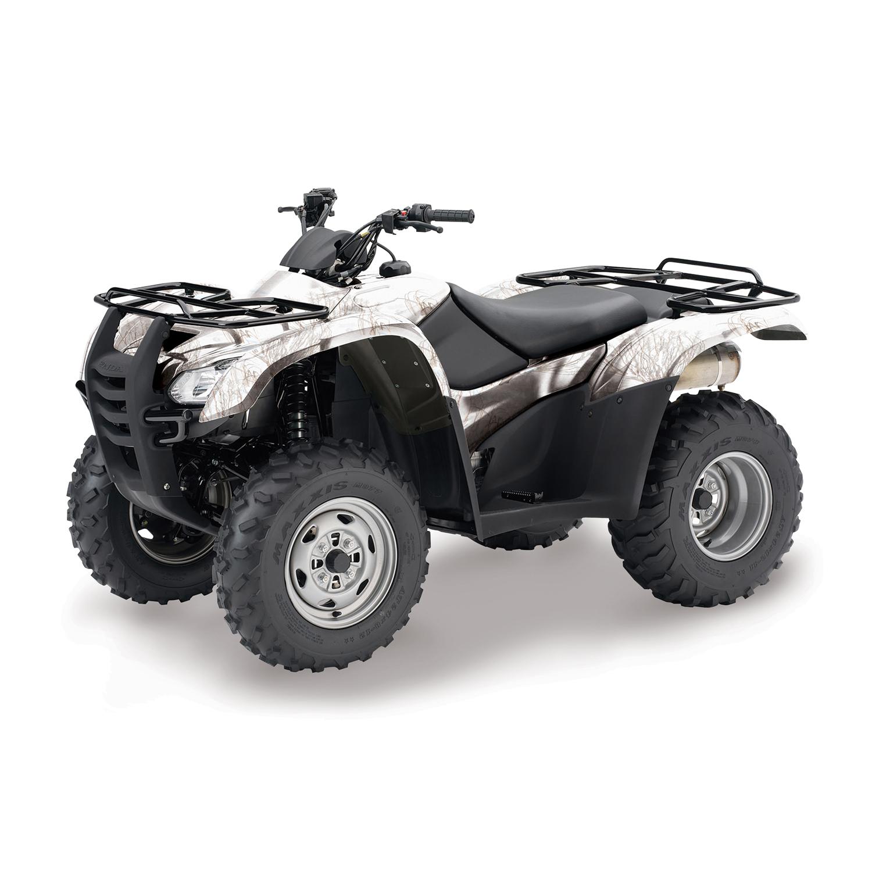 Mossy Oak Graphics Winter Brush ATV Kit