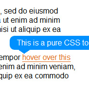 Pure CSS Tooltips Revisited