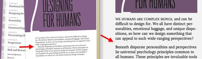 Comparing print vs. e-book