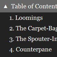 Fixed Table of Contents Drop-Down Menu (jQuery Plugin)