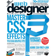 Web Designer Magazine Feature