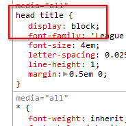 Default Display Values for Different HTML Elements