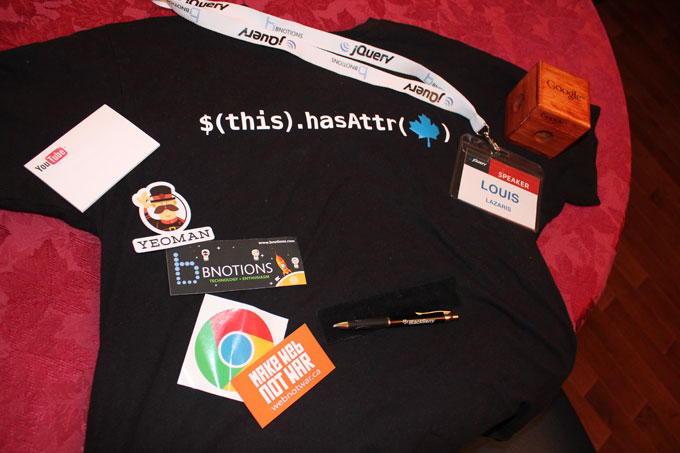 jQueryTO Swag and promo stuff