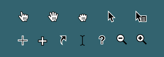 Cursors, Pointers, and Arrows