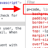 Fixing Styles on `code` Tags Nested Inside Links