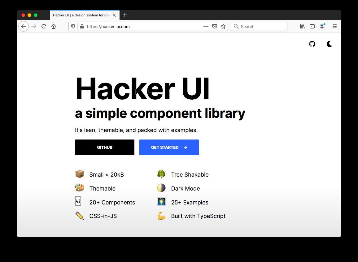 Hacker UI