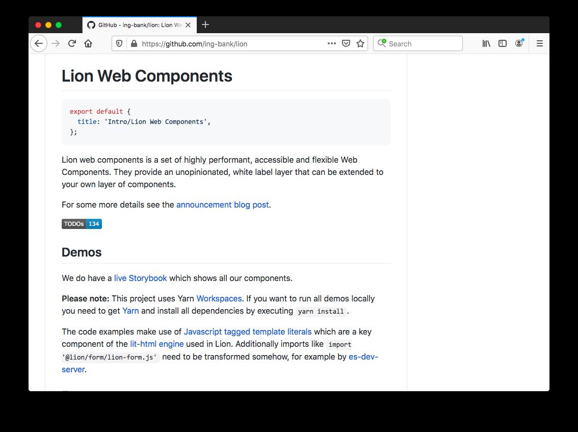 Lion Web Components