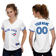 Girl in Blue Jays shirt