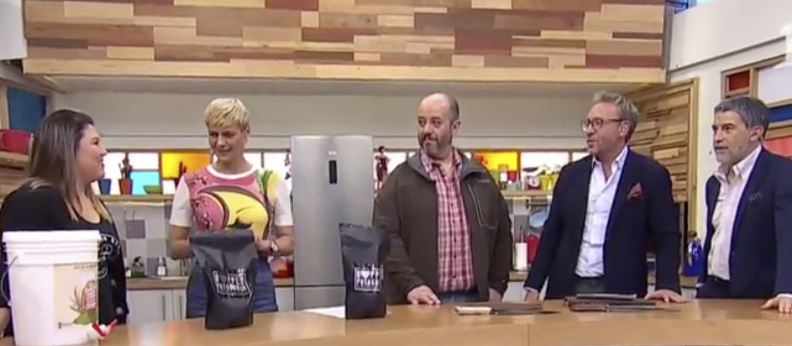 "Ganadores de Impulso Chileno visitan matinal ""Bienvenidos"" de Canal 13"