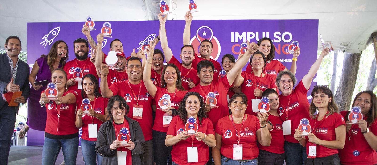 Emprendedores de Panguipulli obtuvieron el segundo lugar en el concurso Impulso Chileno