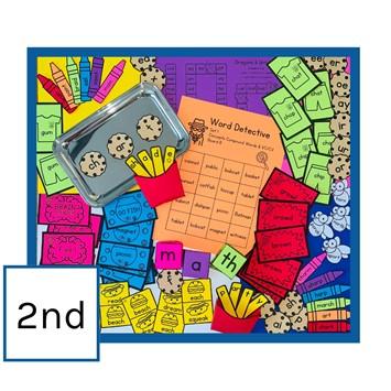 IMSE Orton-Gillingham Printable Classroom Activity Set - Grade 2