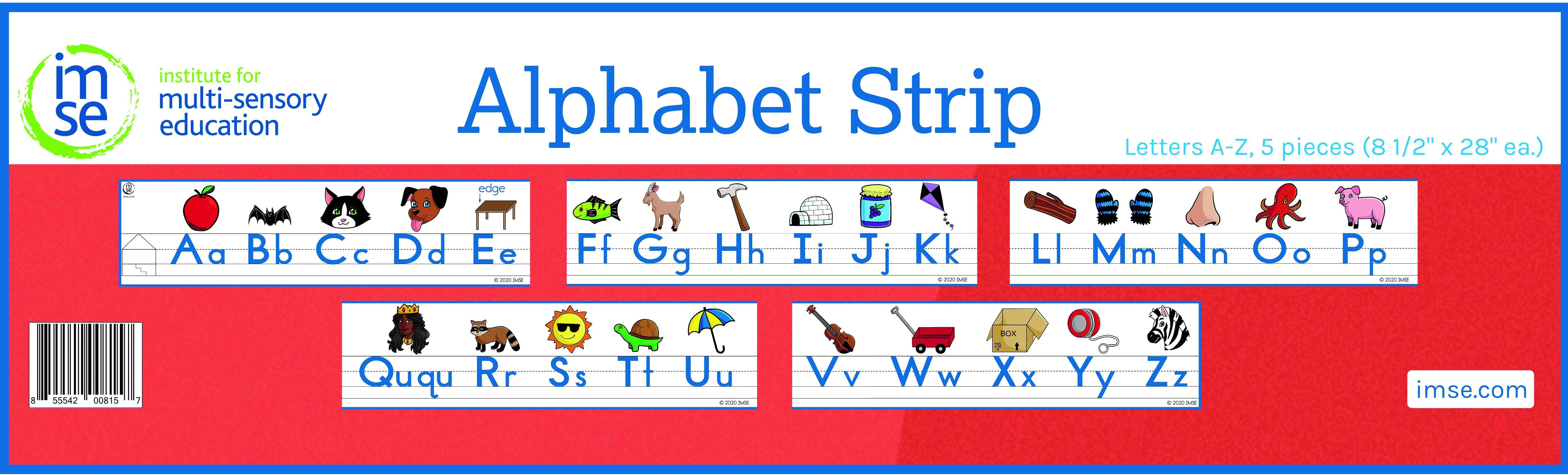 IMSE Classroom Alphabet Strip