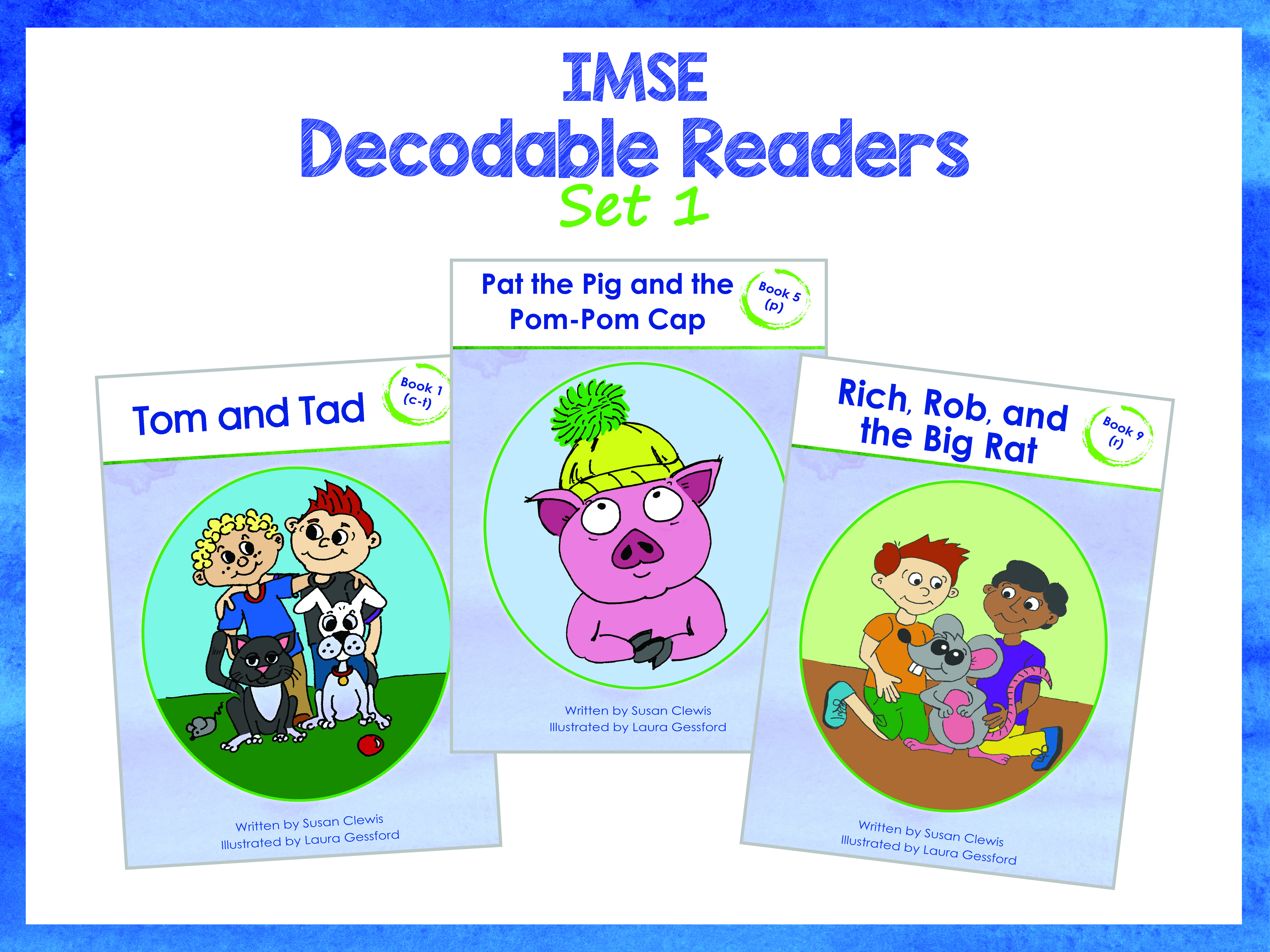 IMSE Decodable Readers Set 1 - Printed