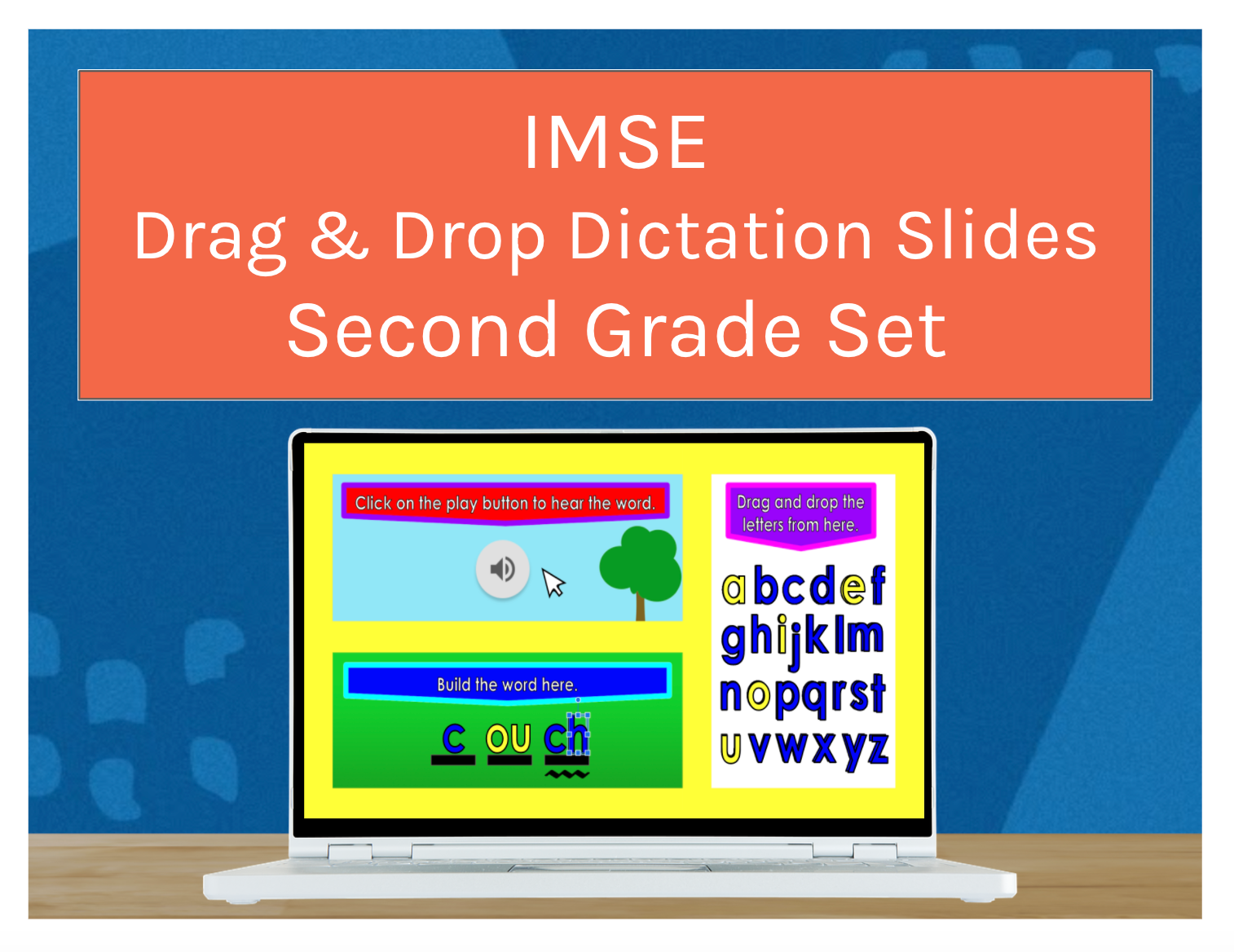 IMSE Drag & Drop Grade 2 Dictation Slides