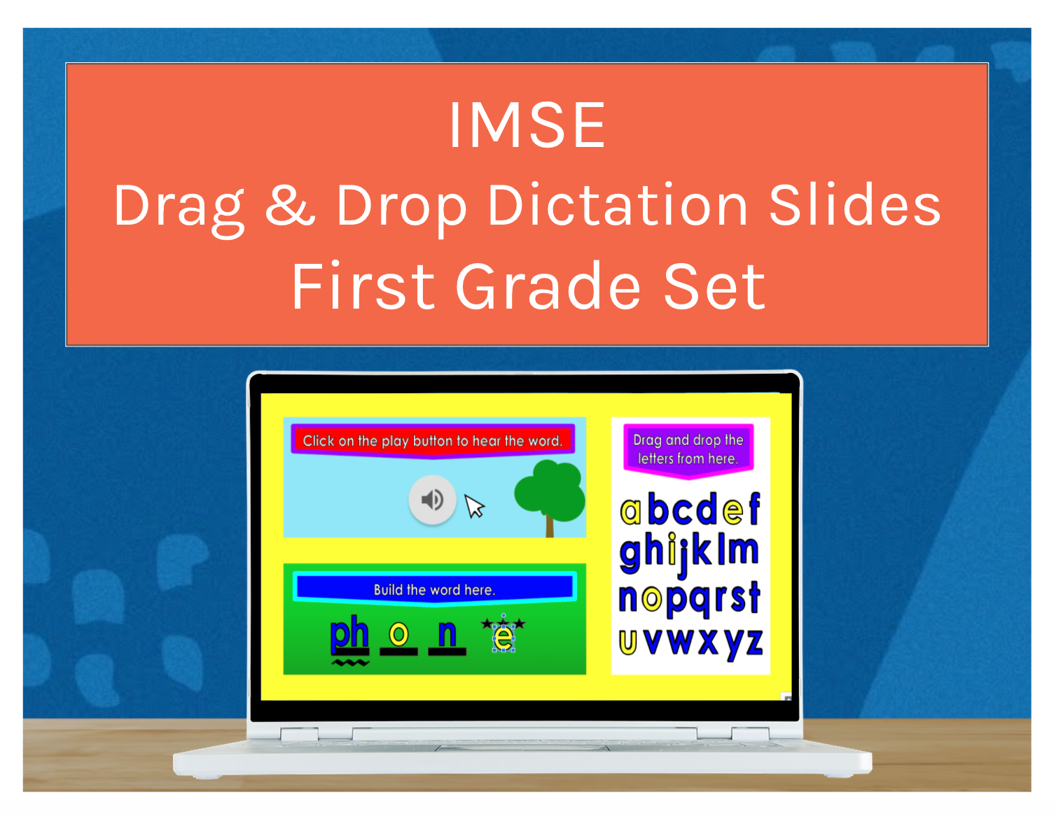 IMSE Drag & Drop Grade 1 Dictation Slides