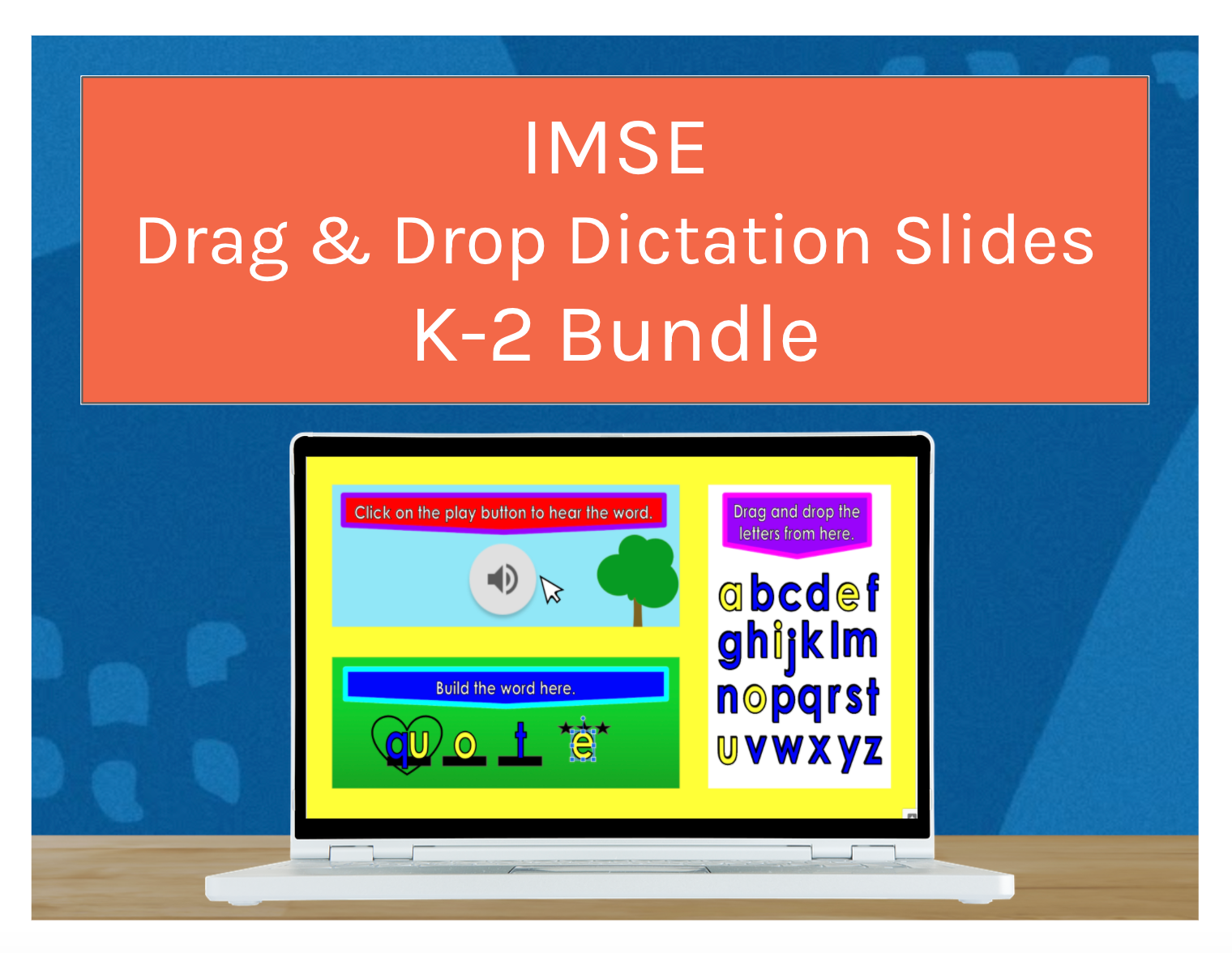 IMSE Drag & Drop K-2 Dictation Slide Bundle