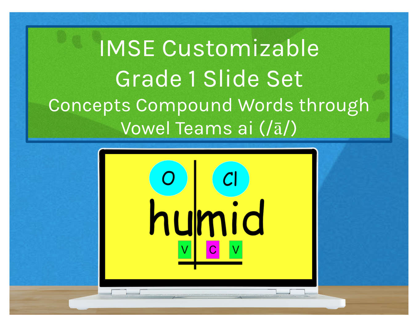 IMSE Customizable Grade 1 Slide Set