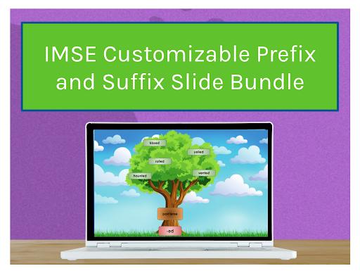 IMSE Customizable Prefix and Suffix Slide Bundle