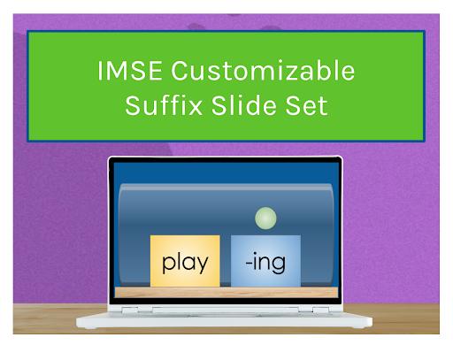 IMSE Customizable Suffix Slide Set
