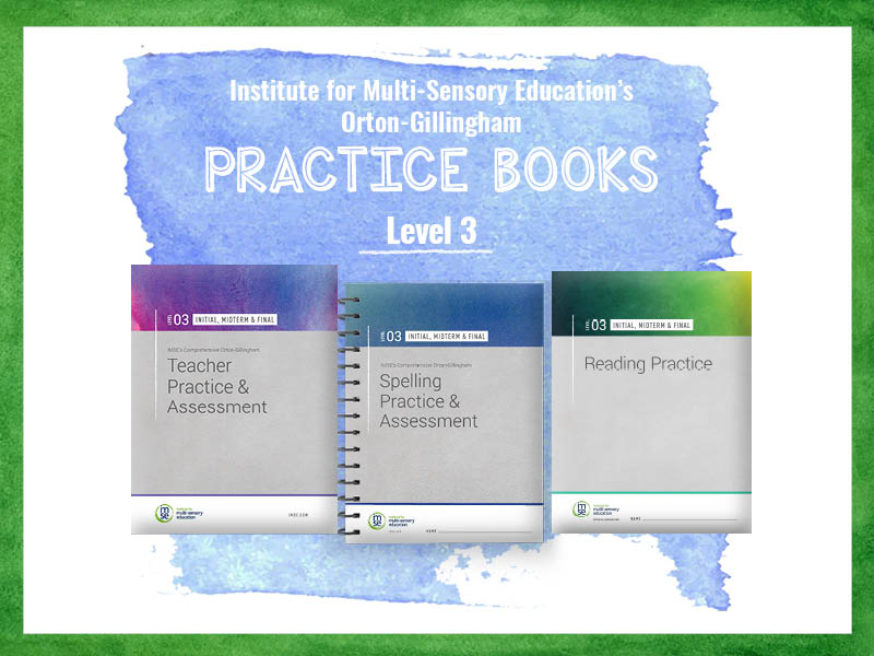 IMSE OG Level 03 Practice Books