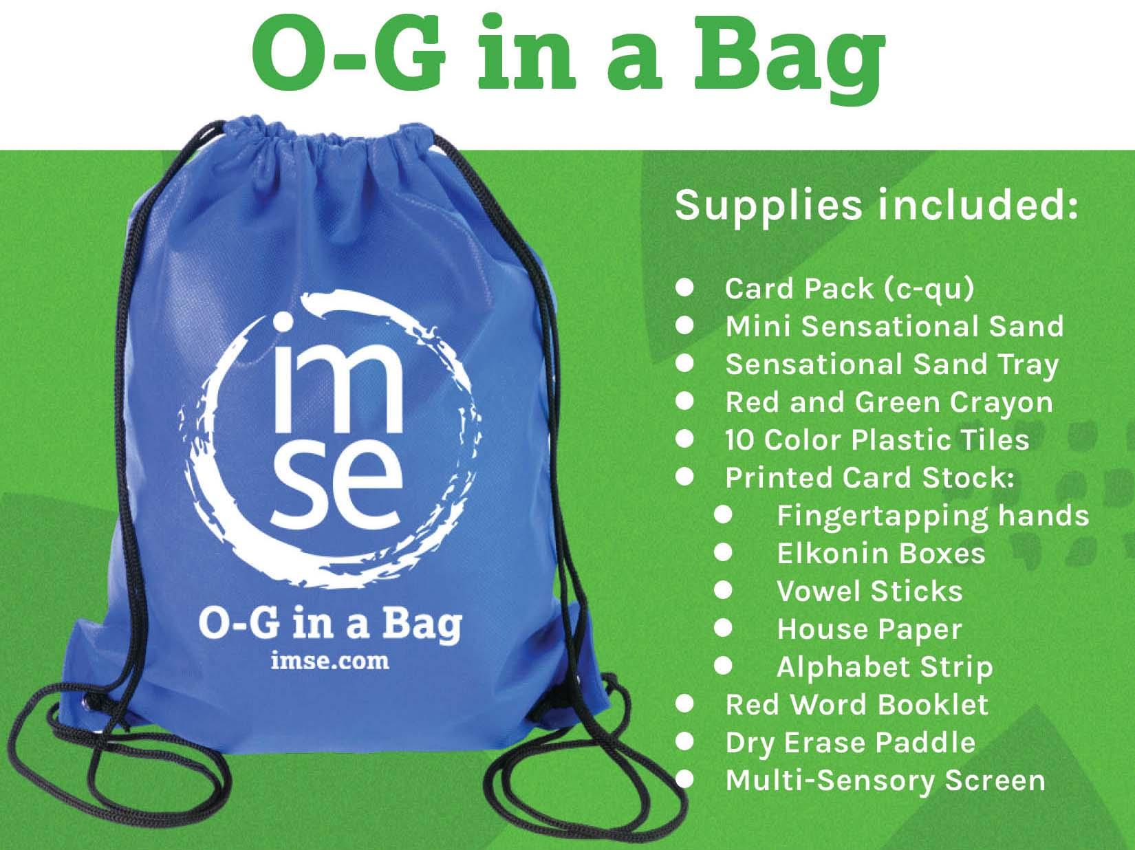 O-G in a Bag