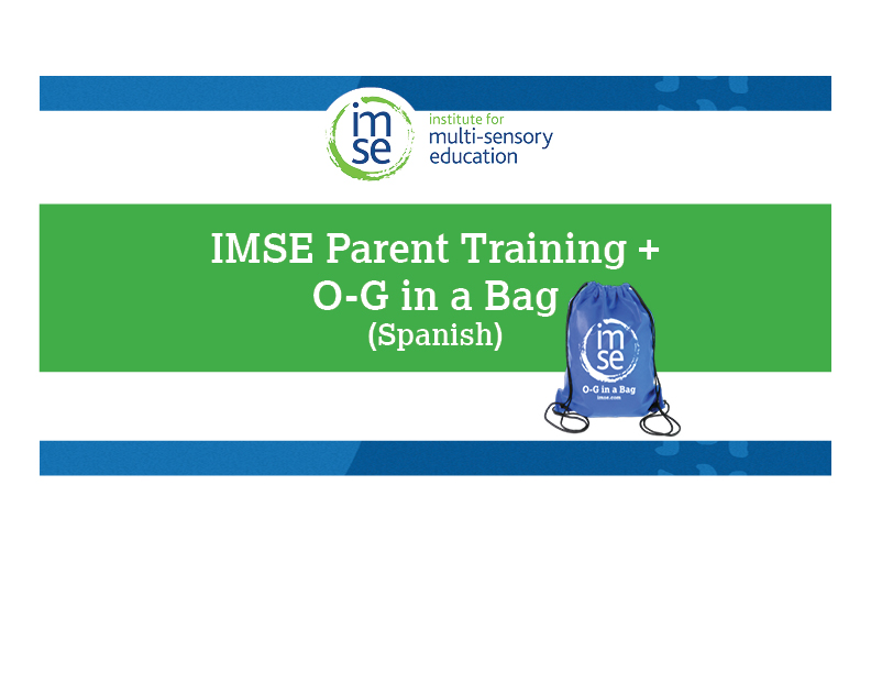 OG in a Bag and Parent Video (Spanish) Bundle
