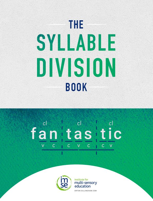 The Syllable Division Book