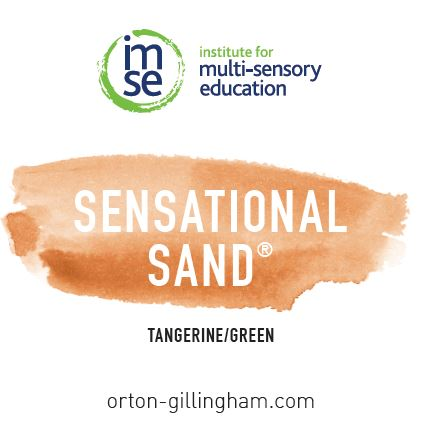 Sensational Sand 2lb. Tangerine/Green