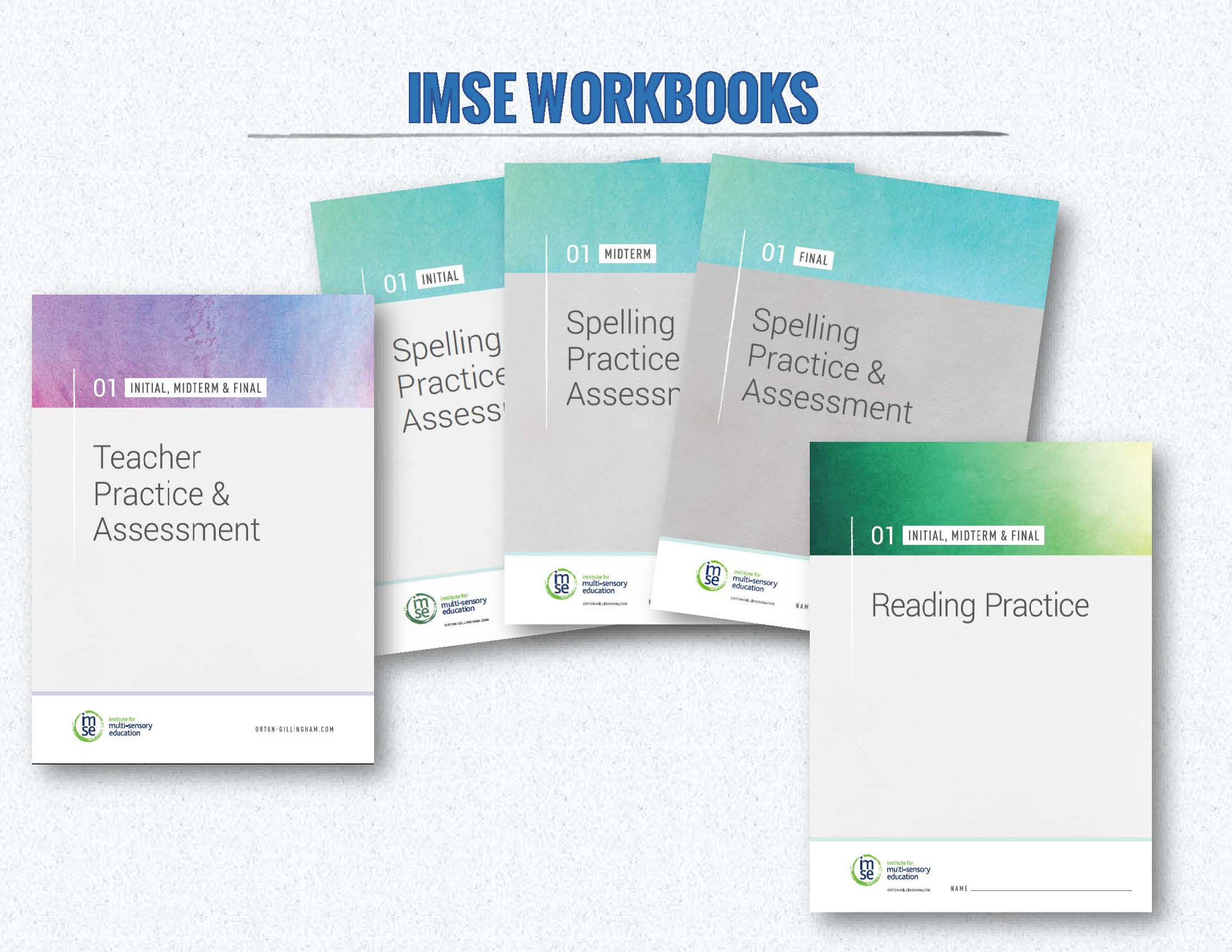 IMSE OG Level 01 Practice Books