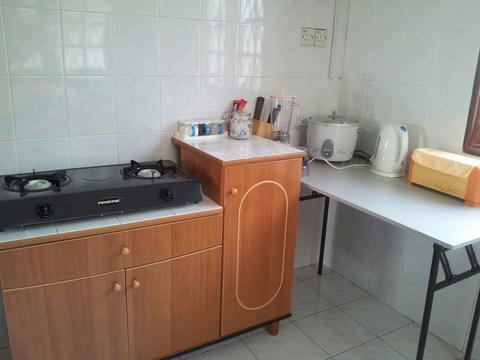Kitchen stove and the electrical appliances