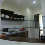 Kitchen front view