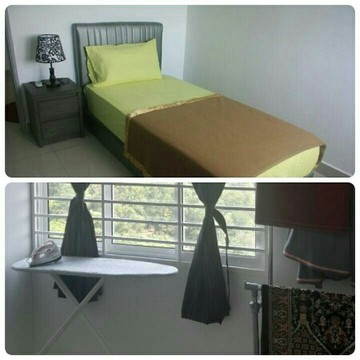 3rd room single bed